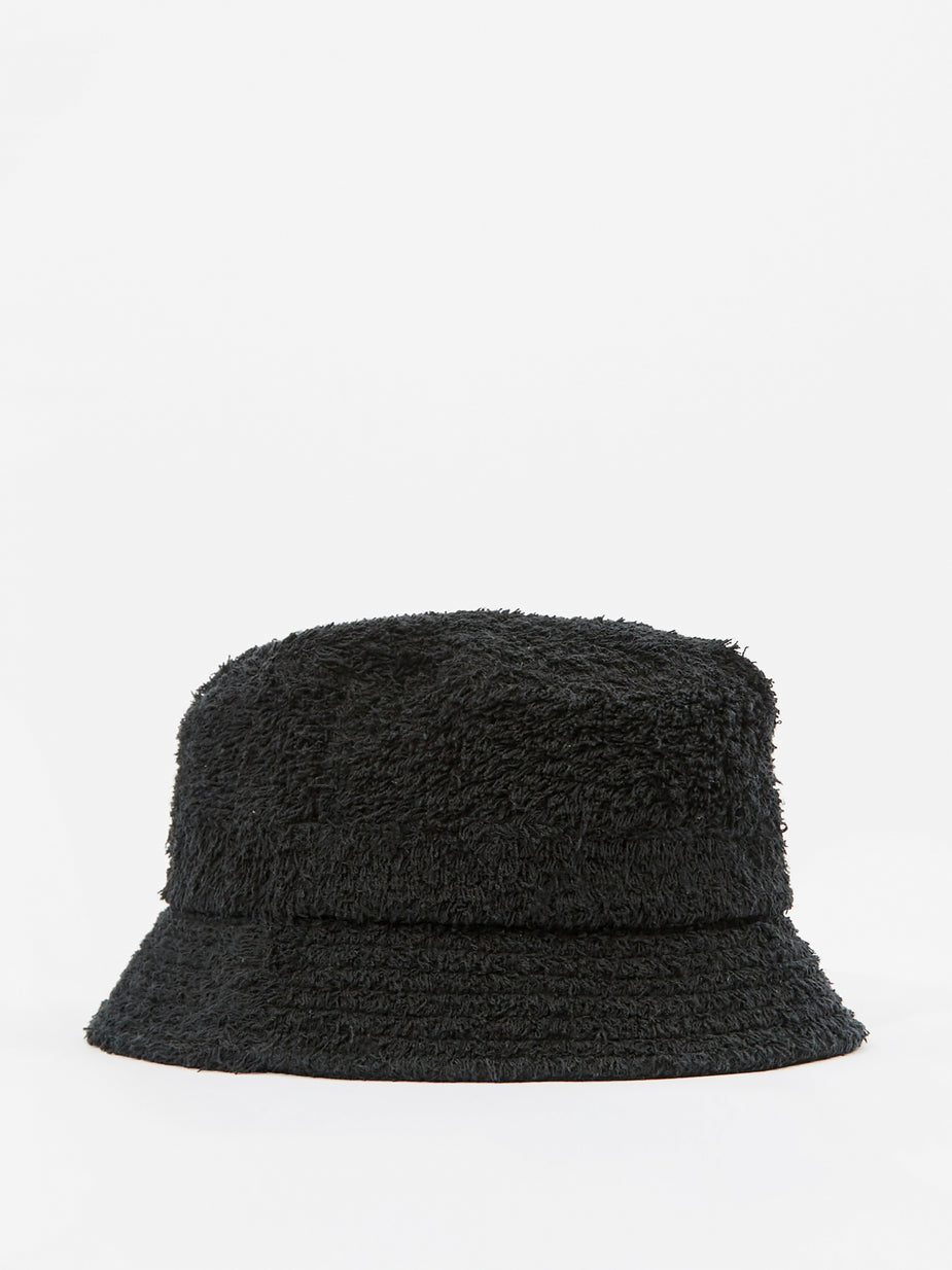 Needles Needles Cotton Pile Bucket Hat - Black - Black
