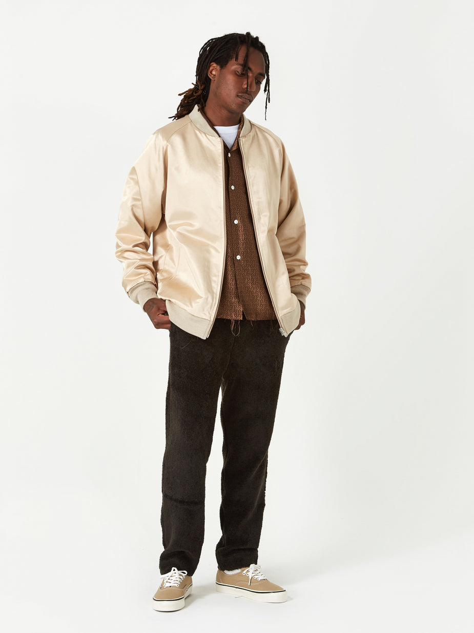 Needles Needles Reversible Rib Collar Jacket - Beige - Neutrals