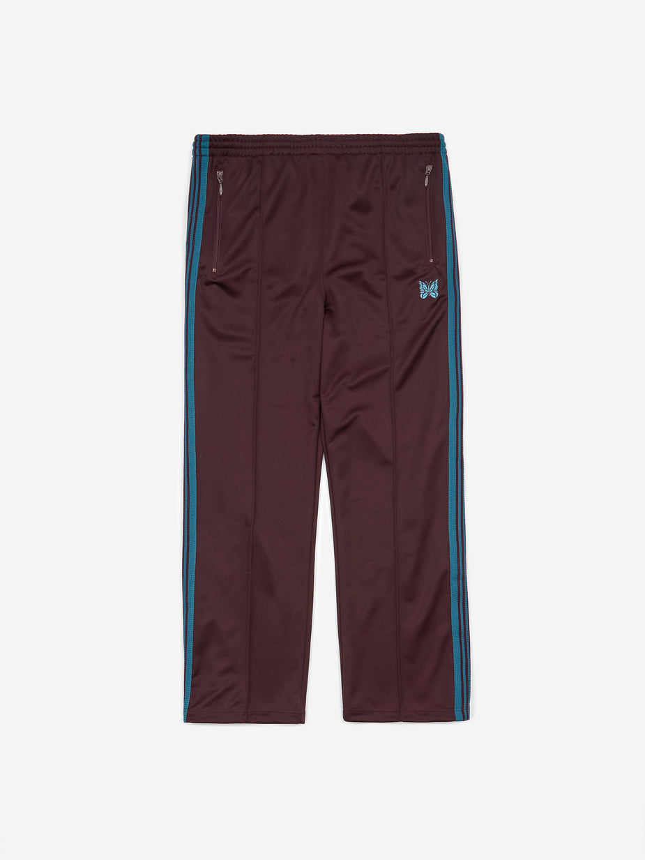 Needles Needles Track Pant - Bordeaux - Red