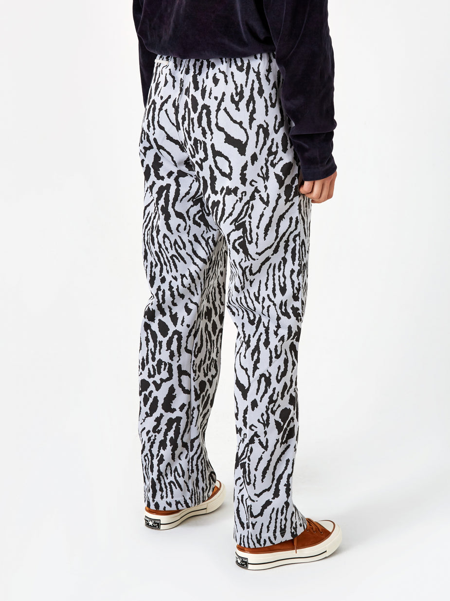 Needles Needles Track Pant - Leopard - Animal Print
