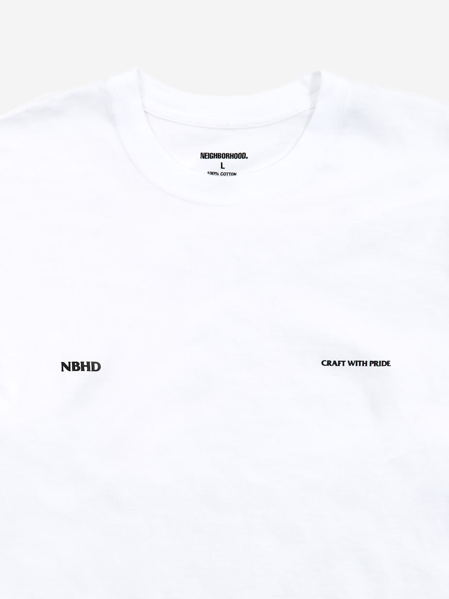 Neighborhood Neighborhood CWP / C-Tee Longsleeve T-Shirt - White - White