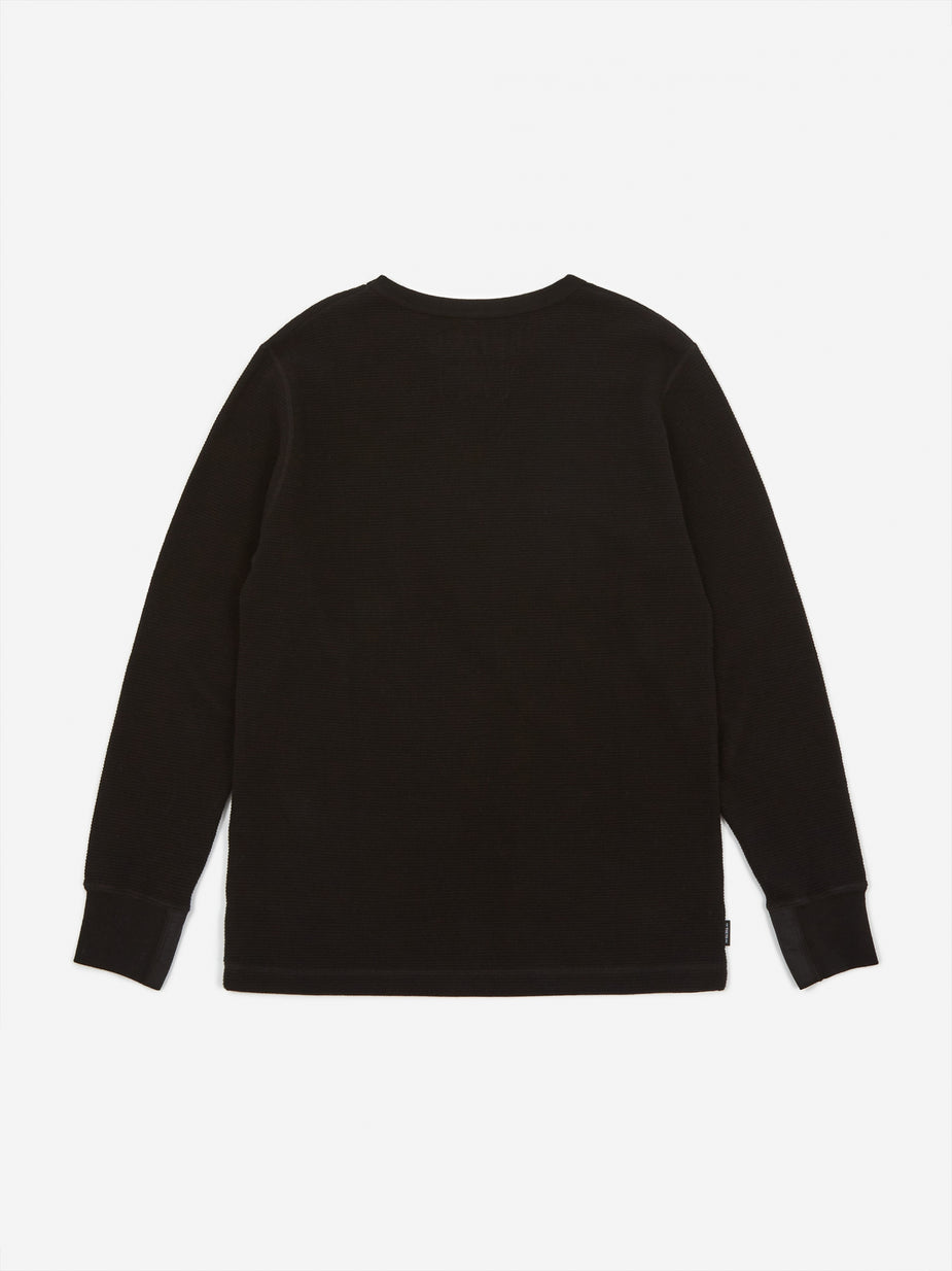Neighborhood Neighborhood Longsleeve B-Waffle / C - Black - Black