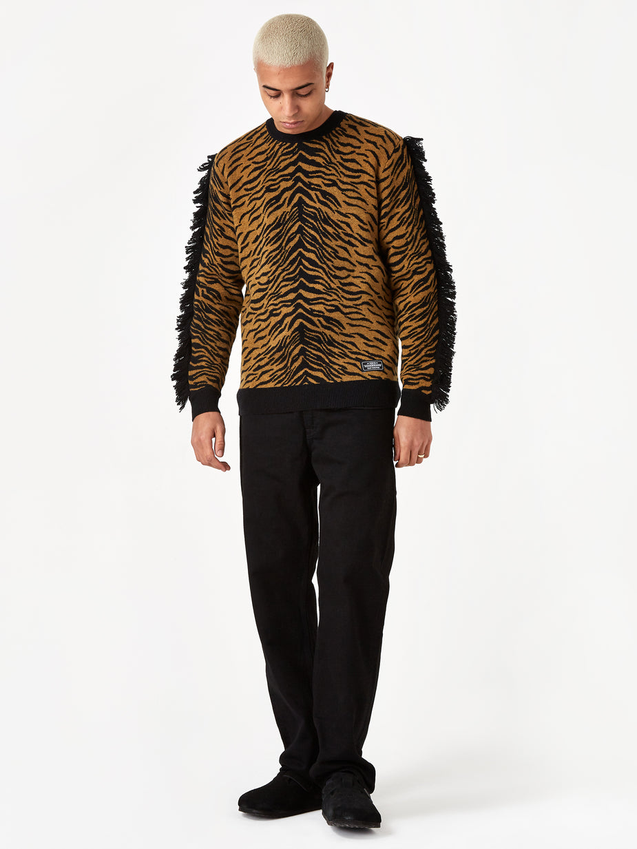 Neighborhood Neighborhood Longsleeve Zebra / WN-KNIT - Gold - Gold