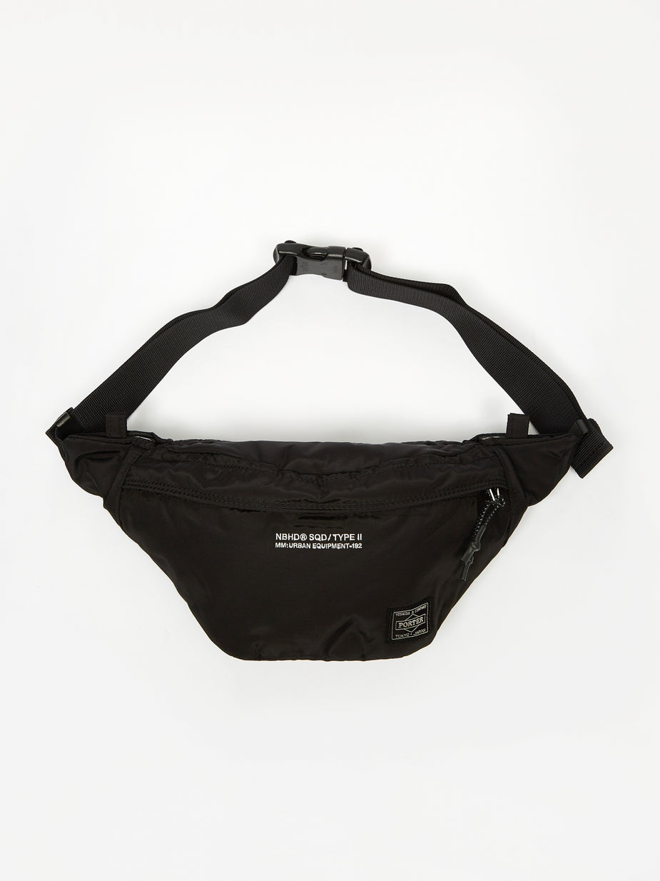 Neighborhood Neighborhood x Porter NHPT Waist / NC-LUGGAGE - Black - Black