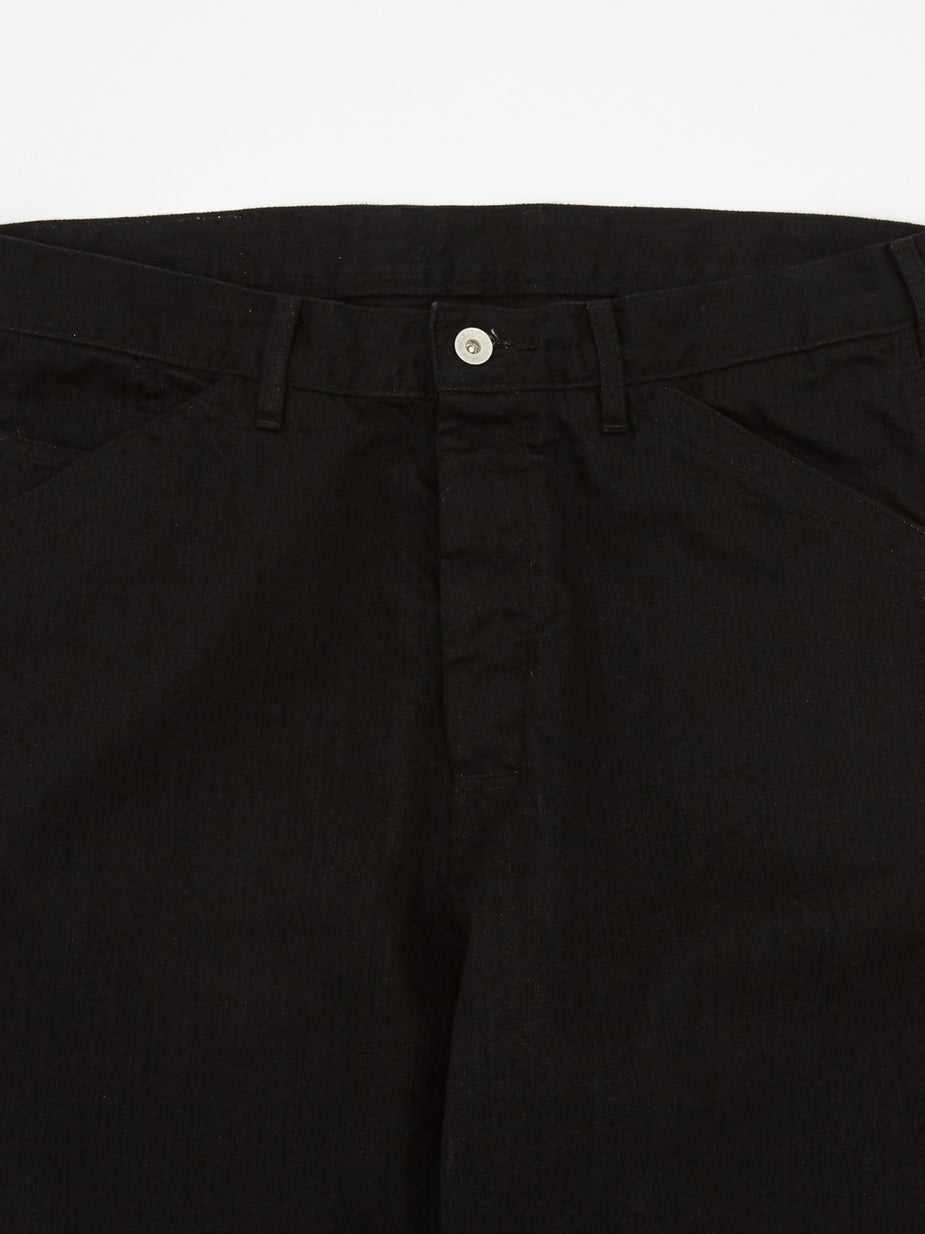 Neighborhood Neighborhood Utility / C Trouser - Black - Black