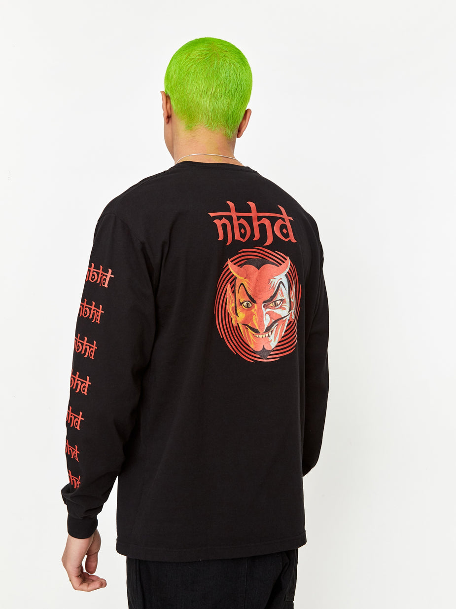 Neighborhood Neighborhood Vertigo / C-Tee Longsleeve - Black - Black