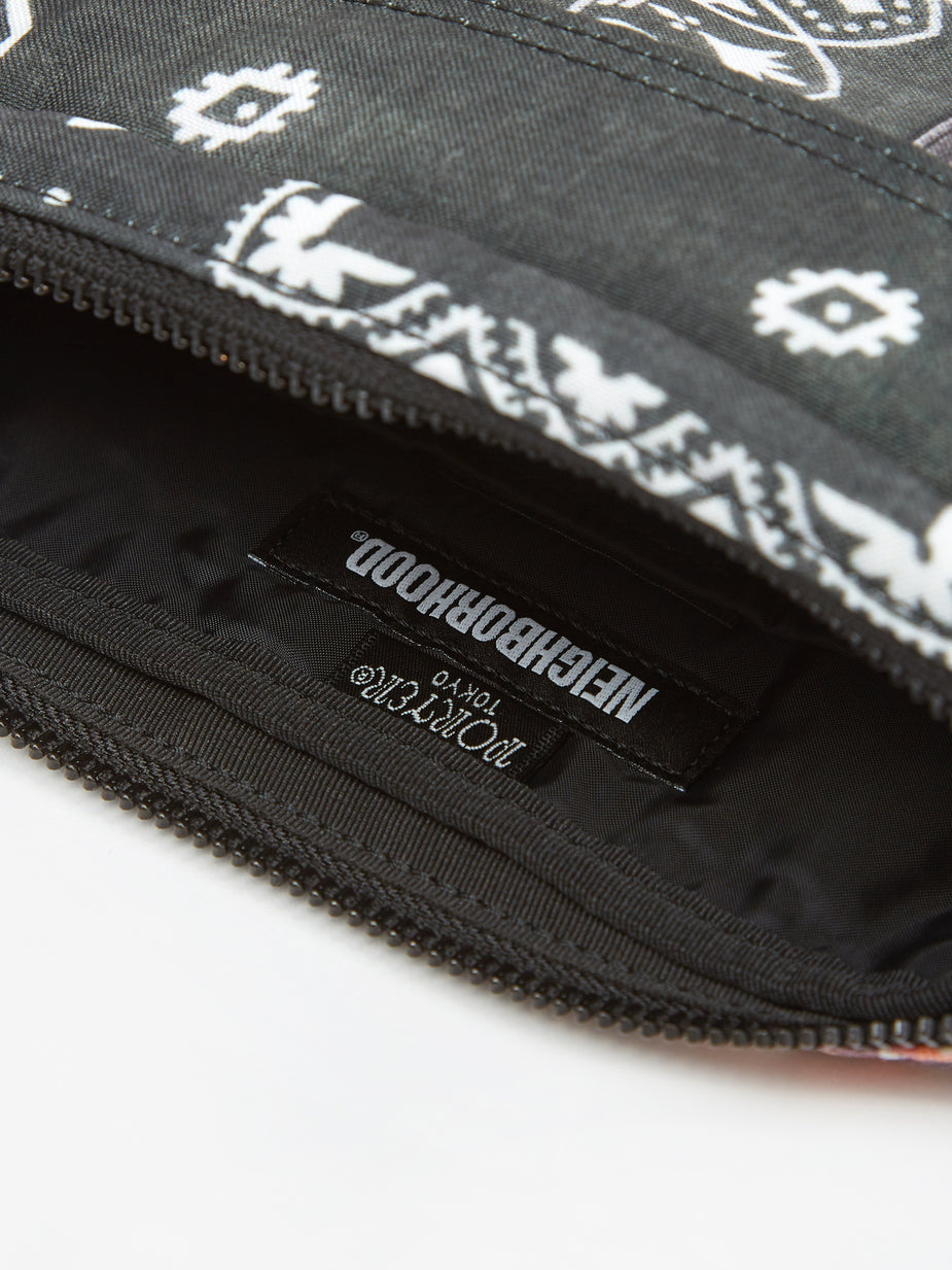 Neighborhood Neighborhood Waistbag / E-Luggage - Black - Black