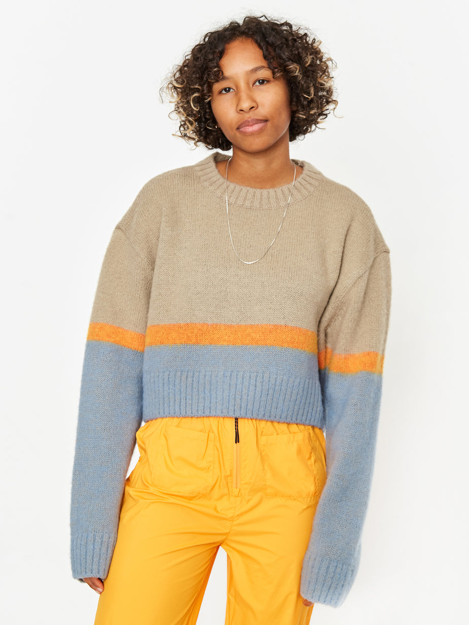 Neul Neul Sunset Graduation Sweater - Warm Sand - Neutrals