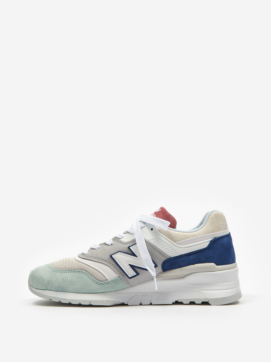 New Balance New Balance M997 - Grey/Navy/Pink - Multi