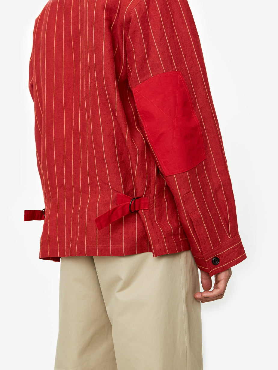Nicholas Daley Nicholas Daley Yussef Shirt Jacket - Red - Red