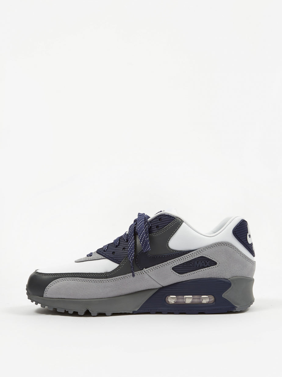 Nike Nike Air Max 90 - White/Neutral/Indigo/Smoke Grey - White