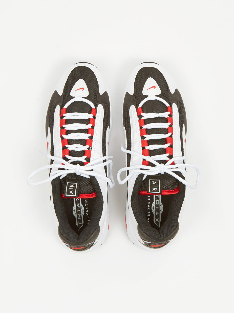 Nike Nike Air Max Triax - White/Red/Black/Silver - Red