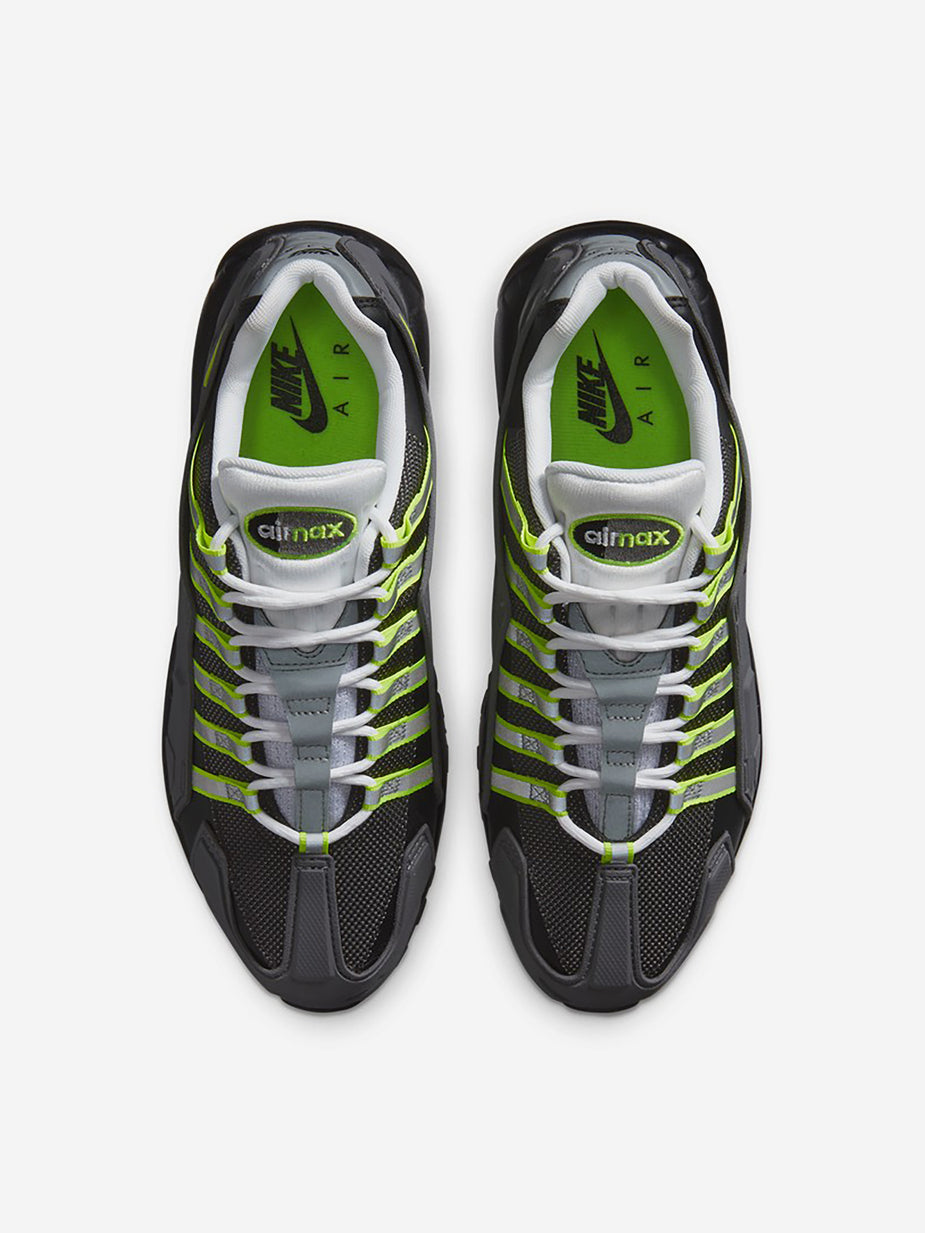Nike Nike Air Max 95 NDSTRKT - Black/Neon Yellow/Medium Grey - Black