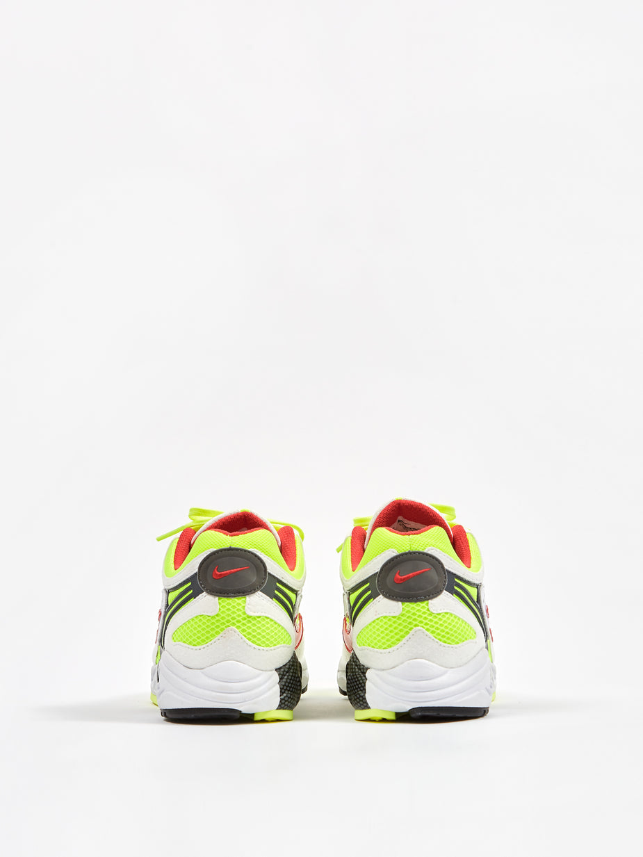 Nike Nike Air Ghost Racer - White/Red/Neon Yellow/Grey - Red