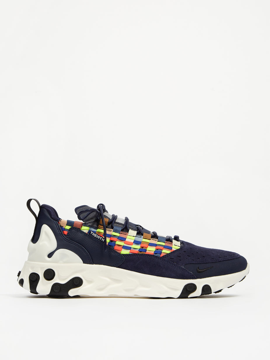 Nike Nike React Sertu - Blackened Blue/Black/Sail - Blue