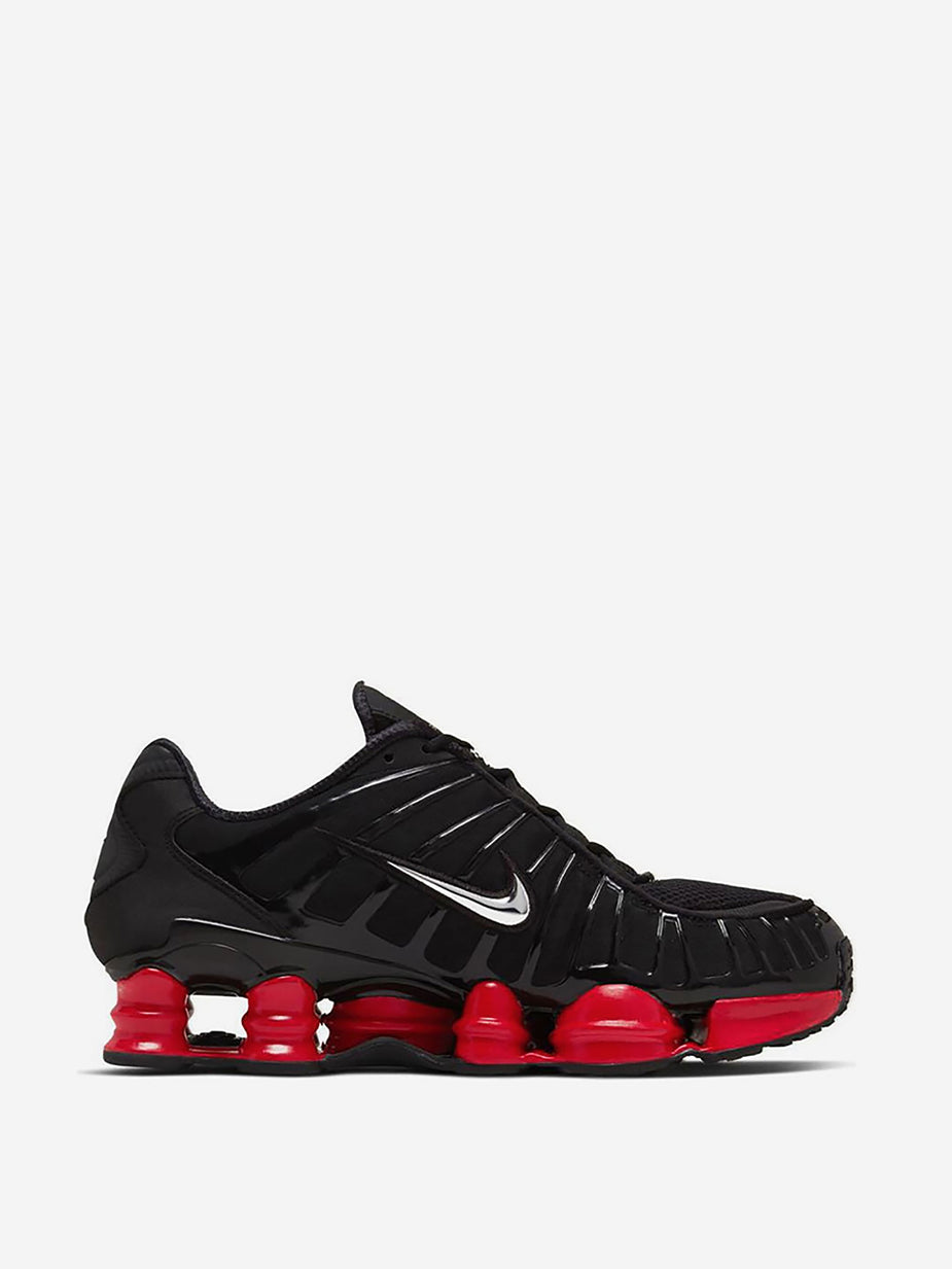 Nike Nike x Skepta Shox TL - Black/Metallic/University Red - Red