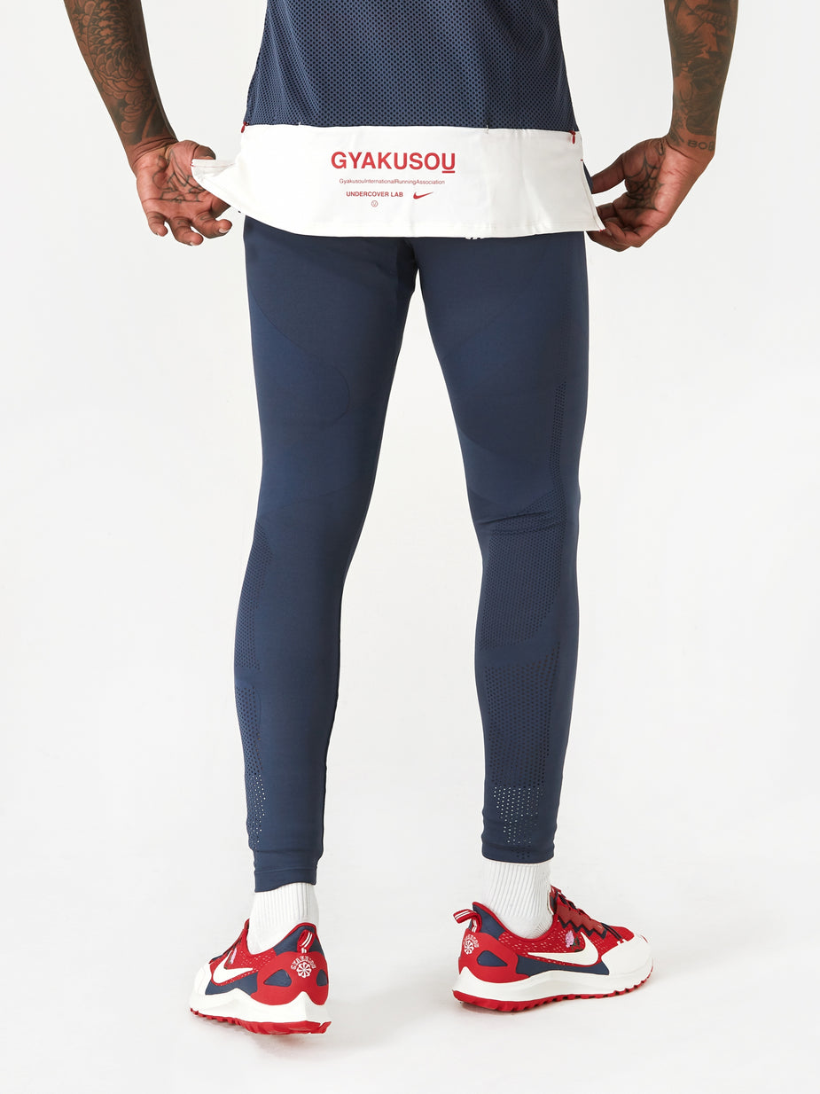 Nike Nike x Gyakusou NRG Helix Tight - Thunder Blue/Sport Red/Sail - Red