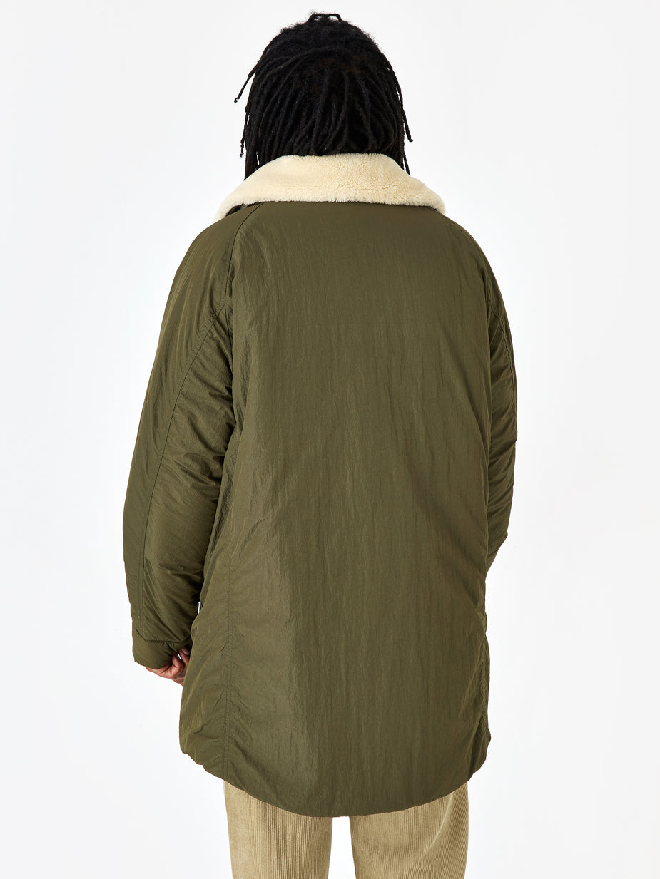 Nonnative Nonnative Carpenter Puff Coat Nylon Taffeta - Olive - Green