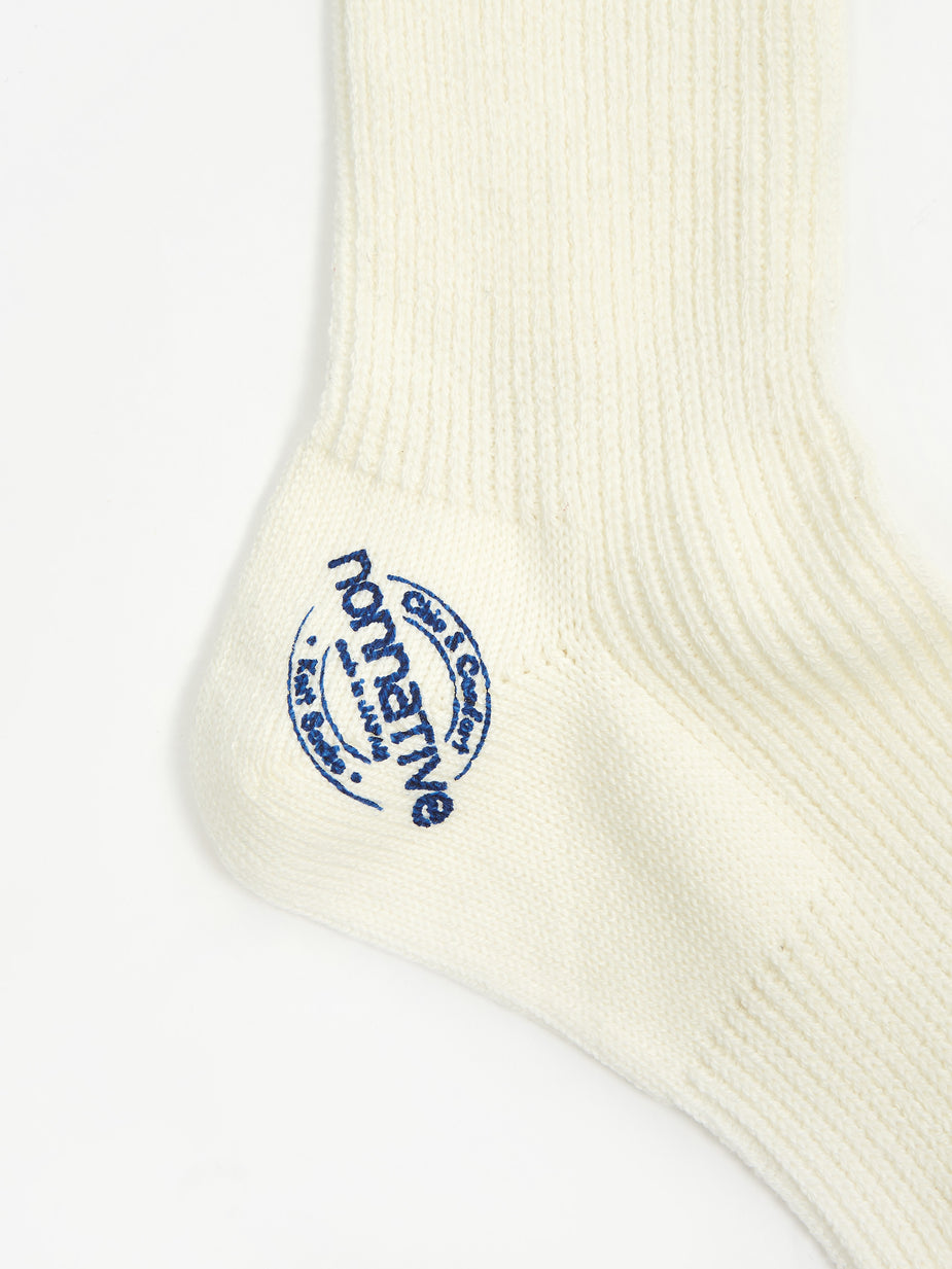 Nonnative Nonnative Dweller Socks Hi - Blue - White