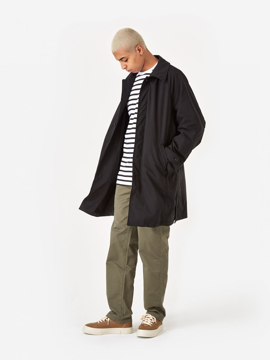 Nonnative Nonnative Scholar Coat Poly Twill PILIANTEX - Black - Black