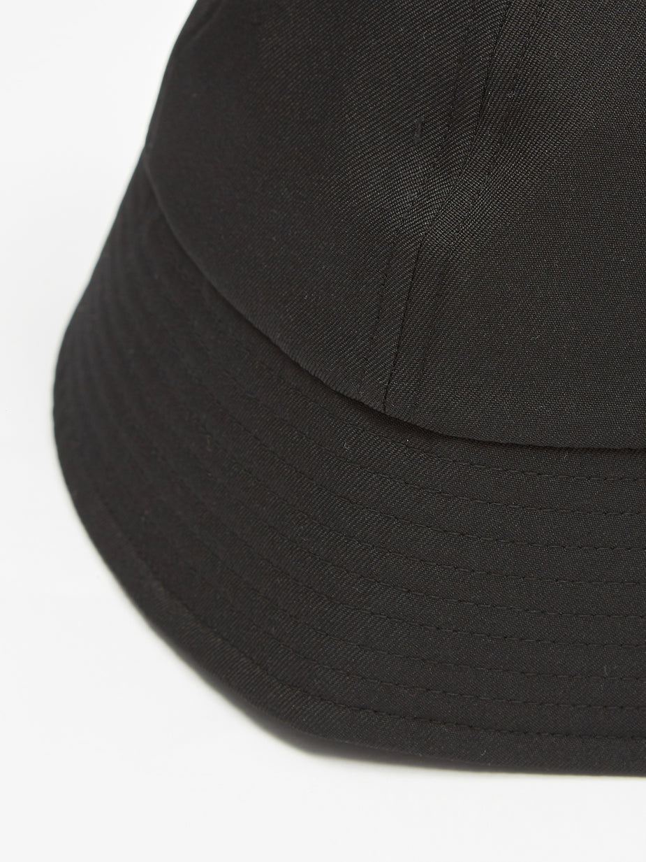 Nonnative Nonnative Worker Hat Poly Twill - Black - Black