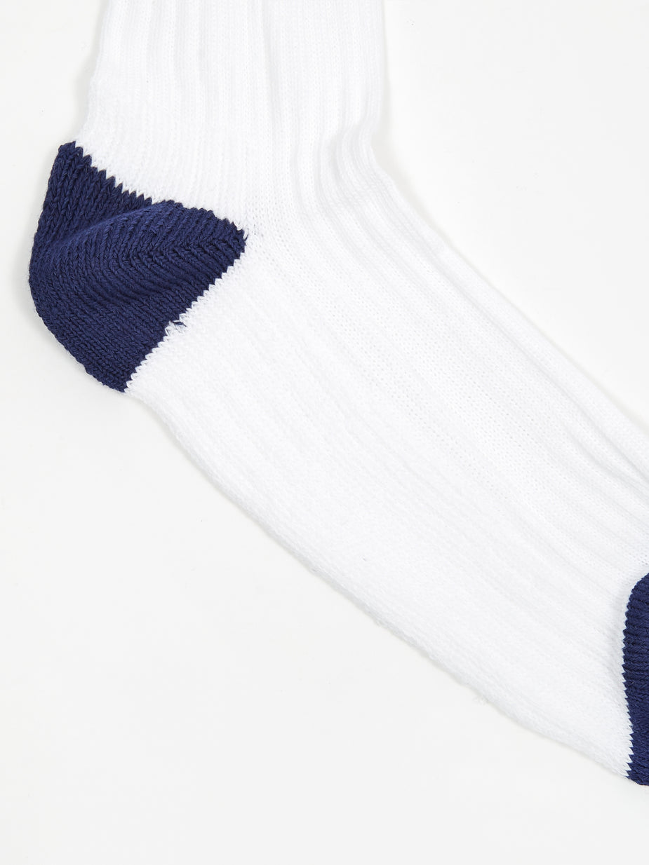 Norse Projects Norse Projects Bjarki Cotton Sport Sock - Twilight Blue - Blue