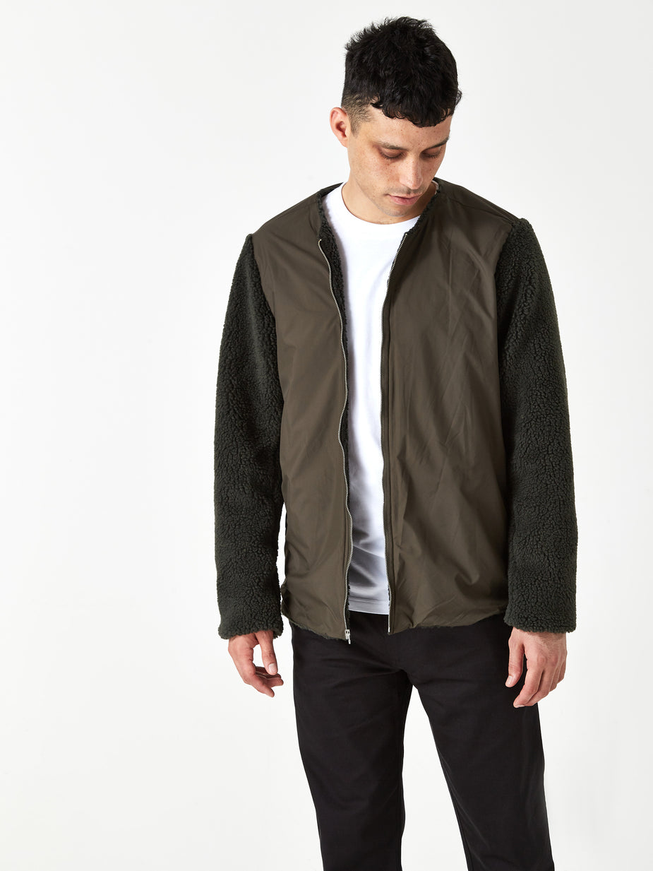 Norse Projects Norse Projects Elias Cambric Cotton Parka Jacket - Dark Navy - Blue