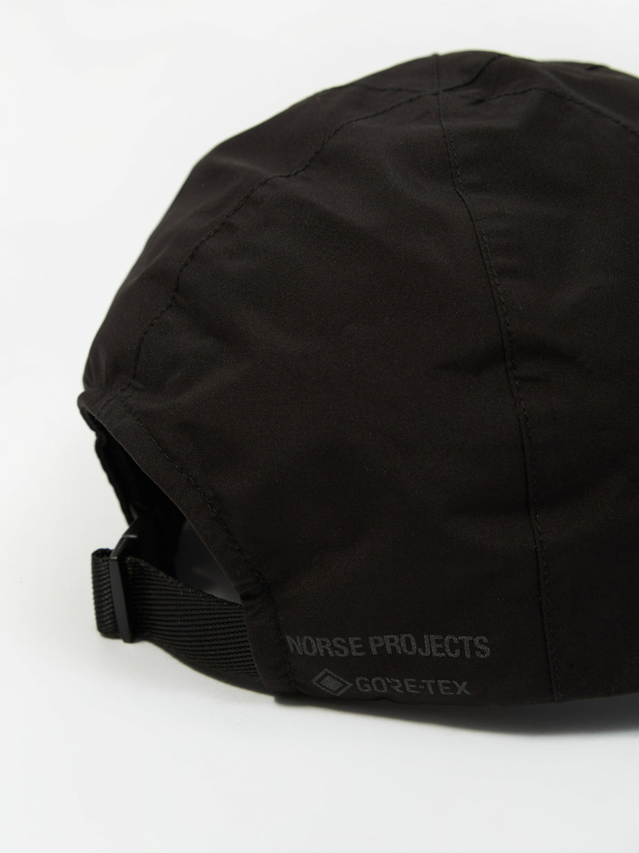 Norse Projects Norse Projects Gore-Tex Sports Cap - Black - Black