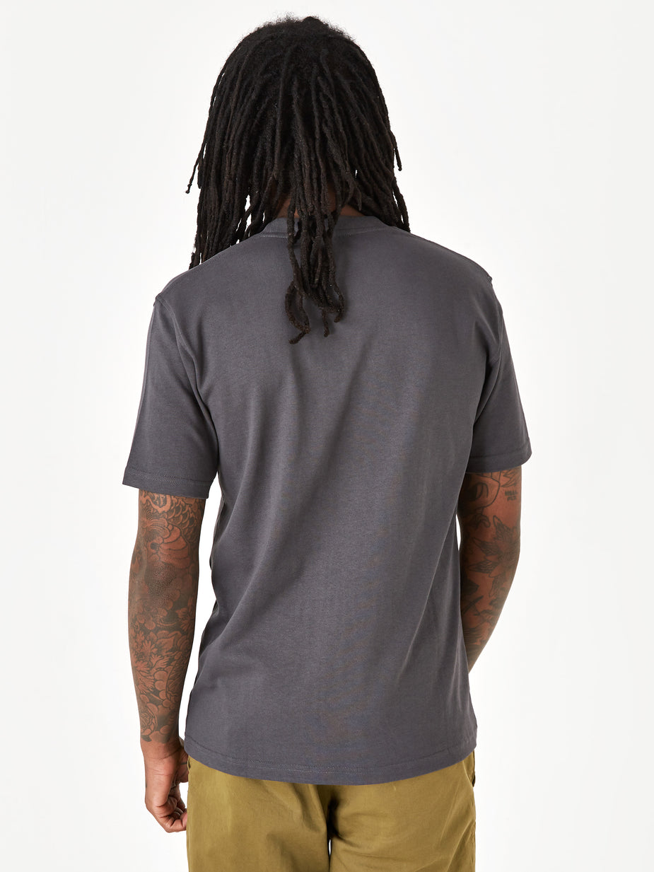 Norse Projects Norse Projects Johannes Pocket Shortsleeve T-Shirt - Slate Grey - Grey