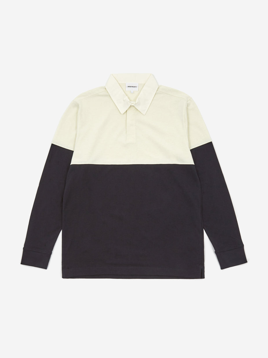 Norse Projects Norse Projects Ruben Colour Block Poloshirt - Dark Navy - Navy