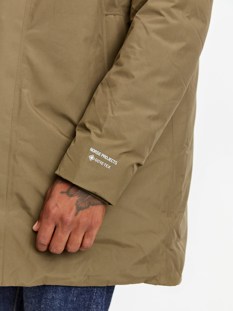 Norse Projects Norse Projects Rokkvi 5.0 GORE-TEX Jacket - Shale Stone - Grey