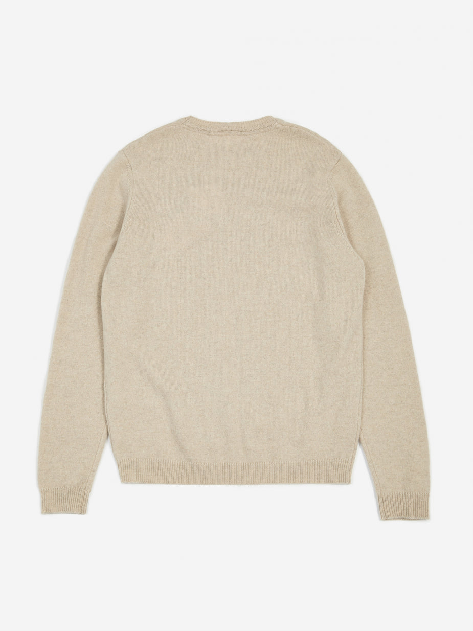 Norse Projects Norse Projects Sigfred Lambswool Jumper - Oatmeal Melange - Other