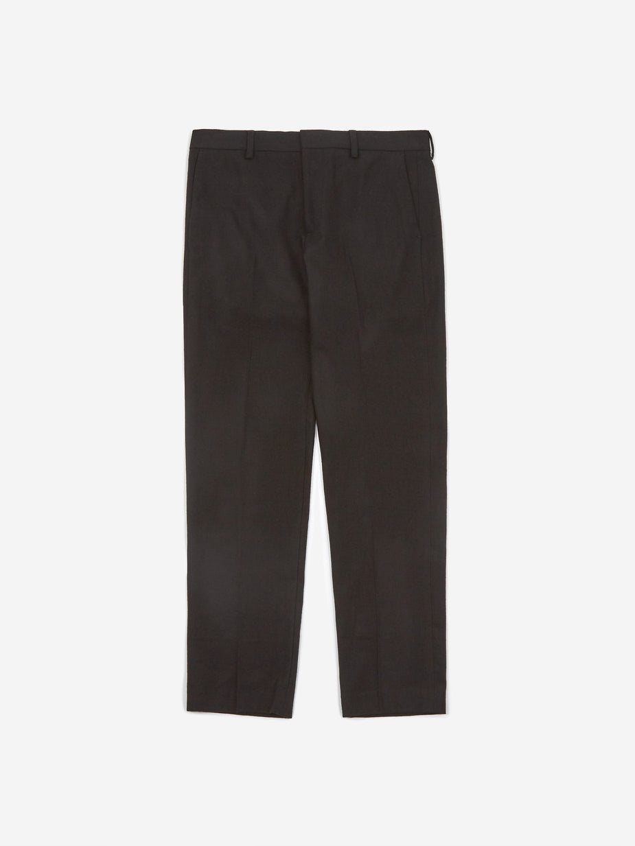 Norse Projects Norse Projects Thomas Cotton Wool Trouser - Black - Black