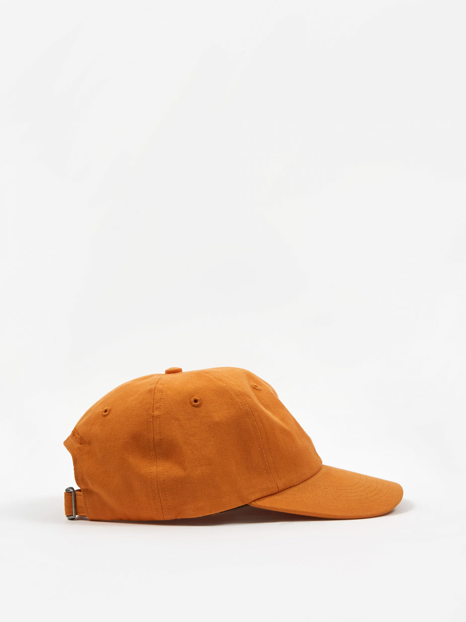 Norse Projects Norse Projects Twill Sports Cap - Cadmium Orange - Orange