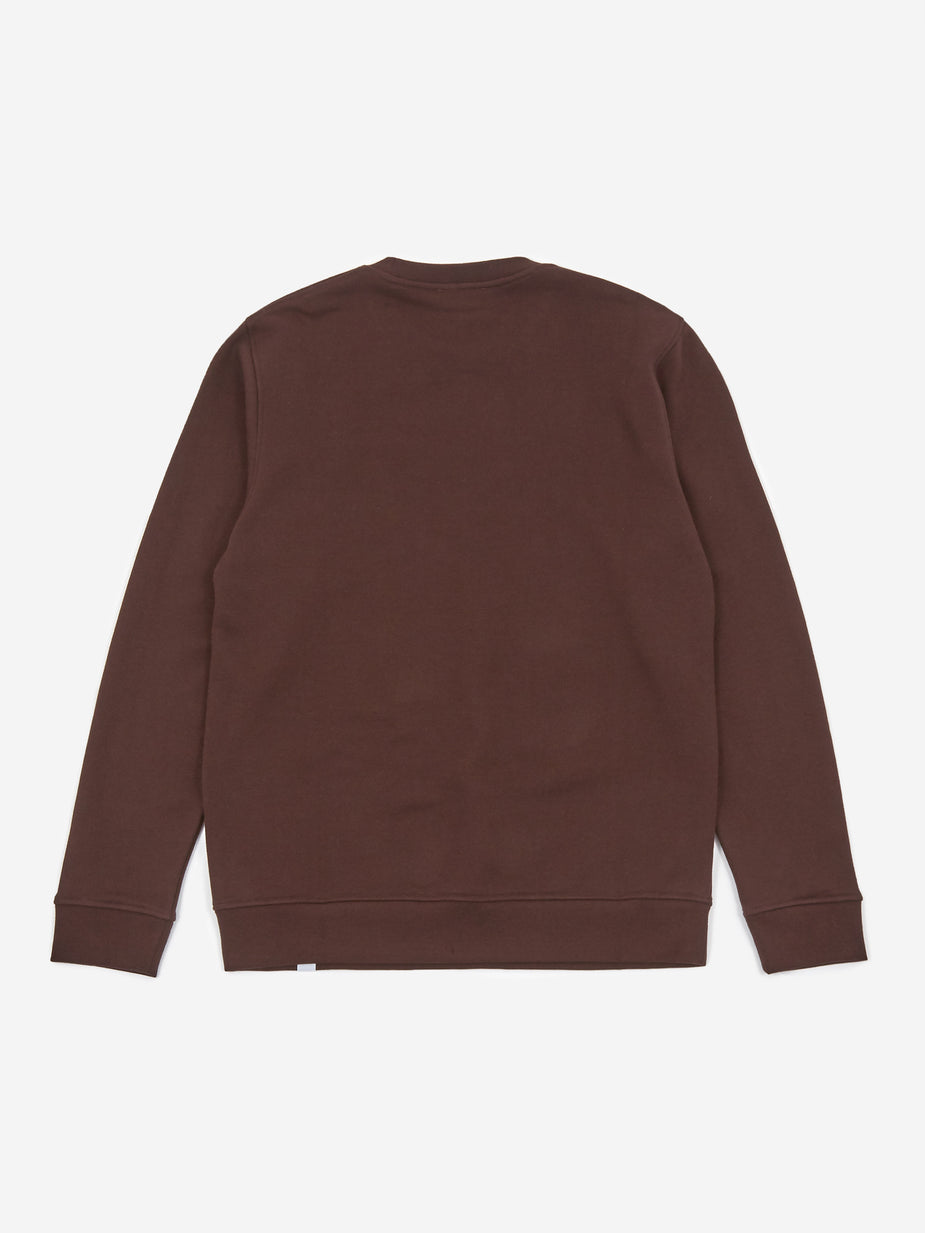 Norse Projects Norse Projects Vagn Classic Crewneck Sweatshirt - Eggplant - Purple