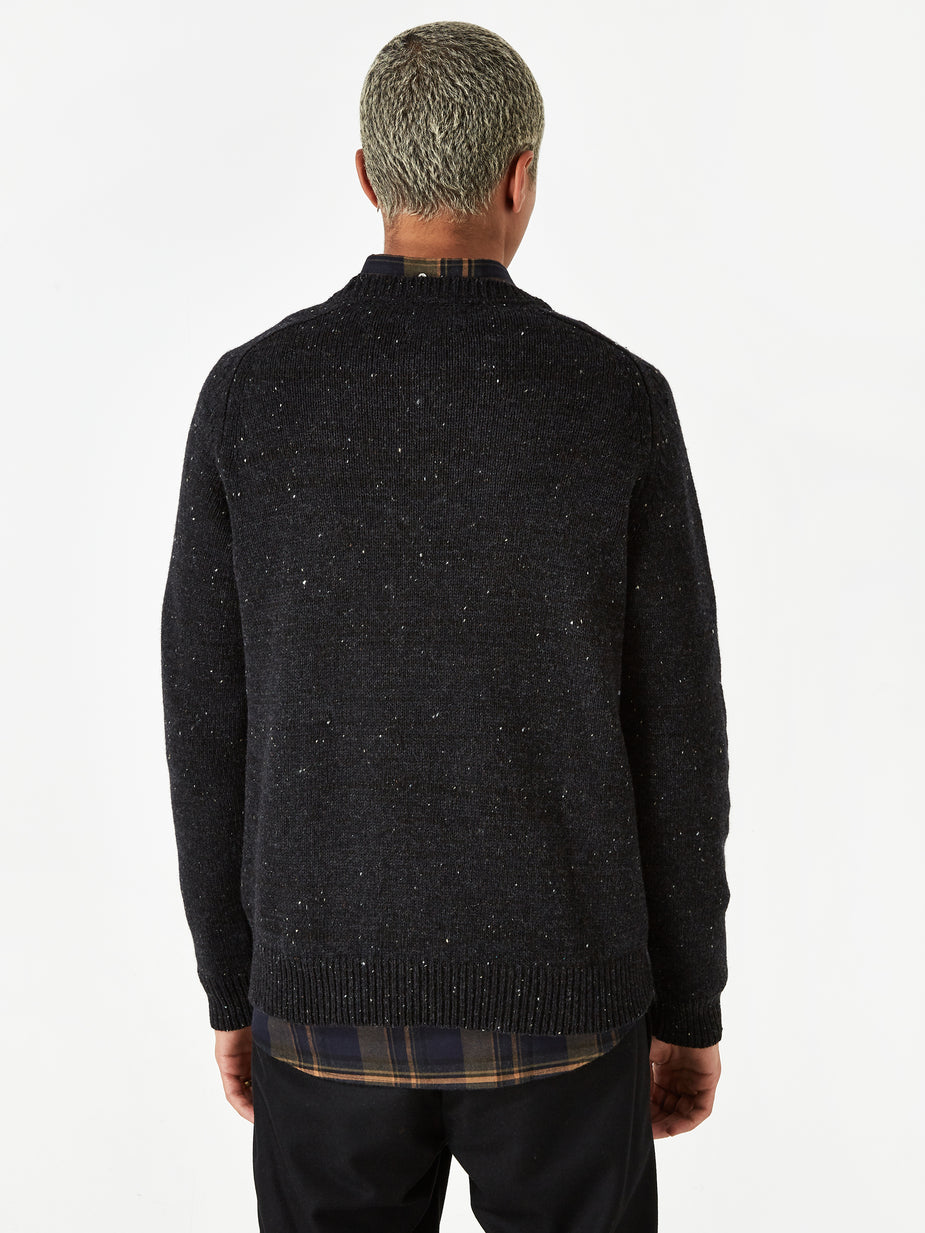 Norse Projects Norse Projects Viggo Crewneck Jumper - Charcoal Melange - Grey