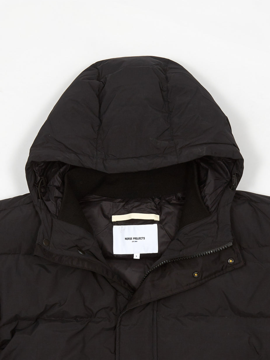 Norse Projects Norse Projects Willum Down Jacket - Black - Black