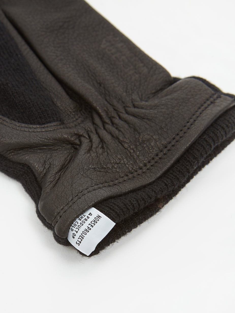 Norse Projects Norse Projects x Hestra Svante Glove - Black - Black
