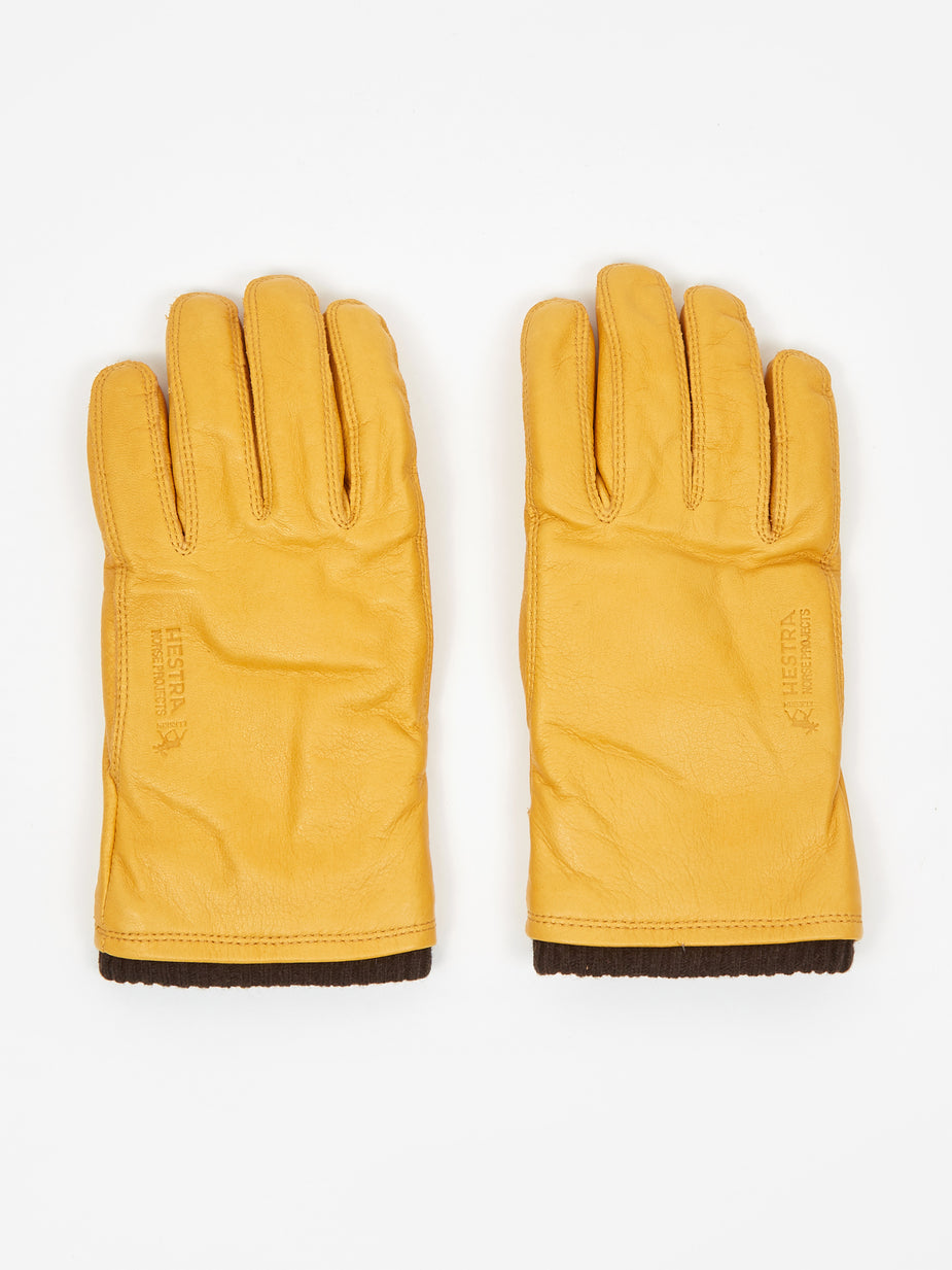 Norse Projects Norse Projects x Hestra Utsjo Gloves - Yellow - Yellow