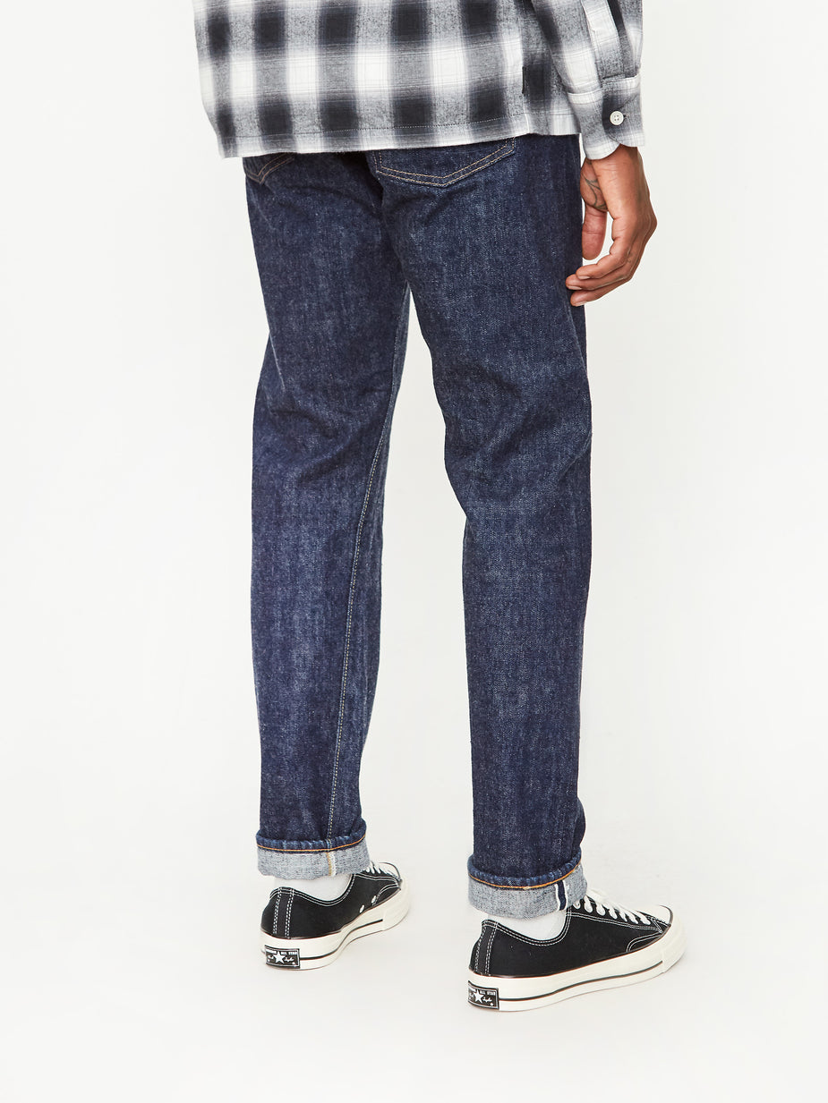OrSlow OrSlow Ivy Fit 107 Denim Jean - One Wash - Blue