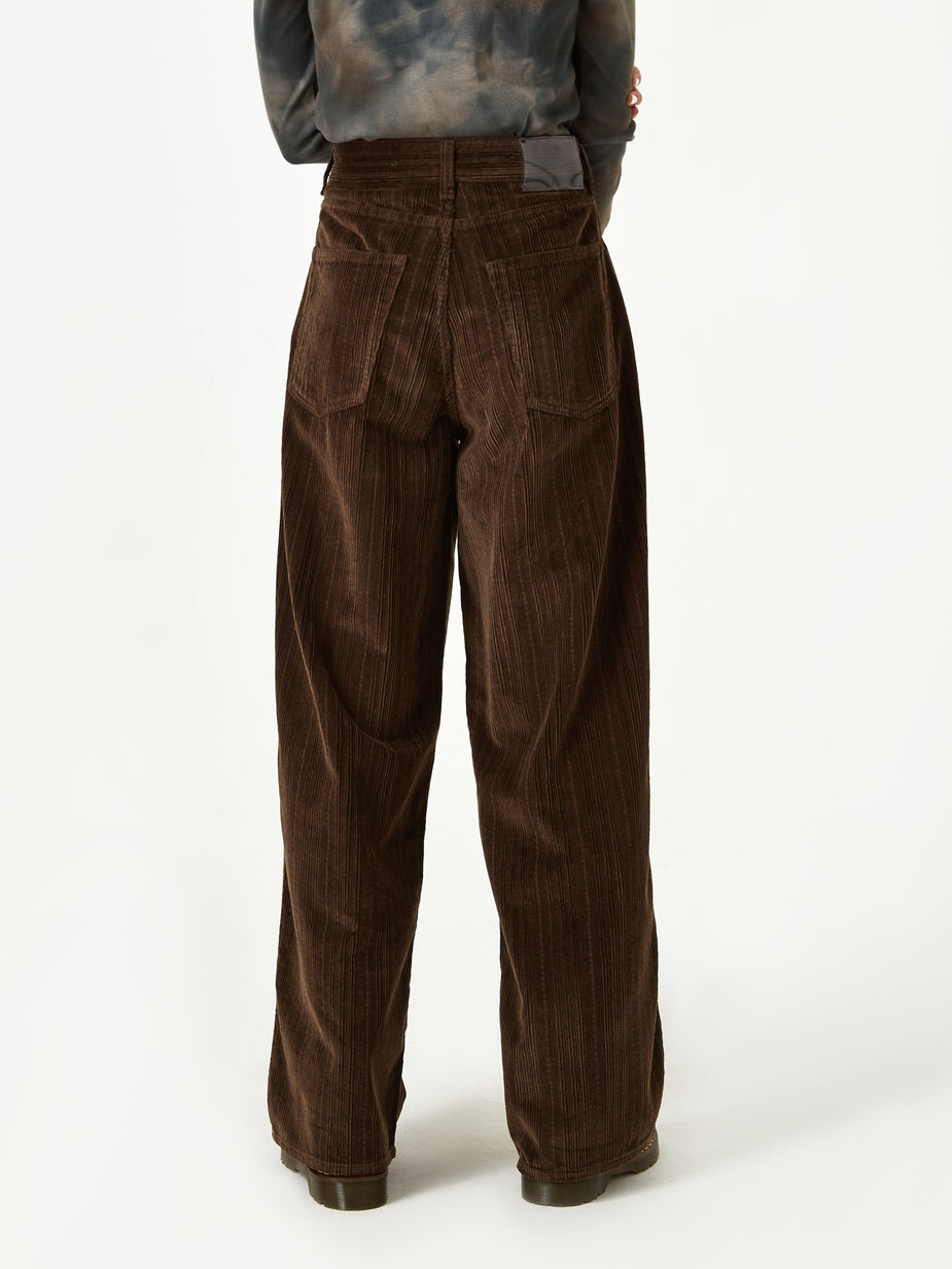 Our Legacy Our Legacy Full Corduroy Trouser - Chocolate Brown - Brown