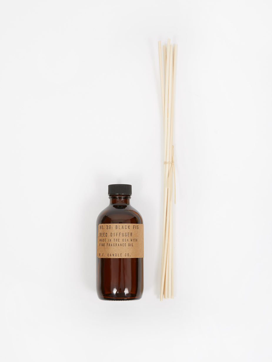 P.F. Candle Co. P.F. Candle Co. No. 28 Black Fig 3oz Reed Diffuser - 3oz - Brown