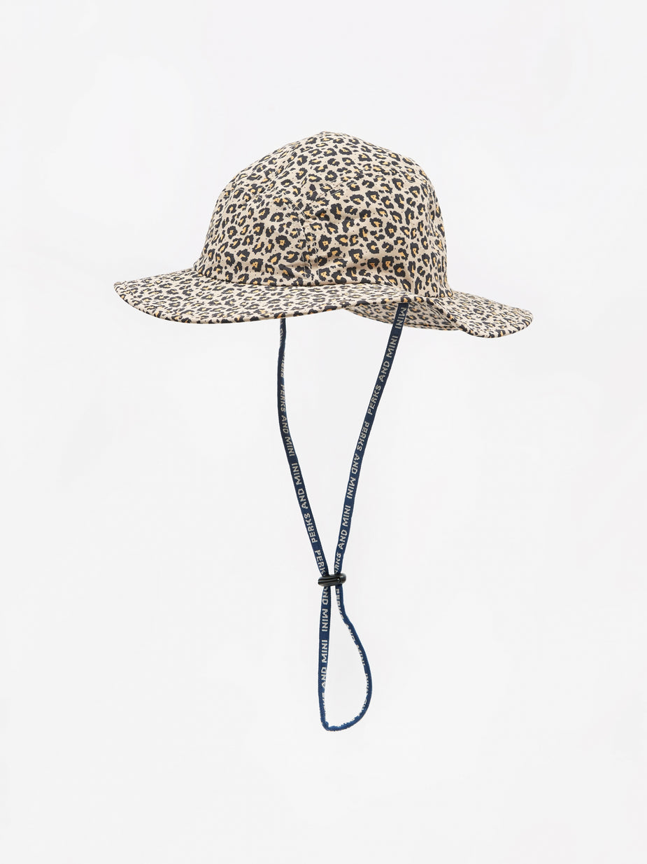 Perks & Mini Perks & Mini Boxed Animal Sun Hat - Sand Animal. - Animal Print