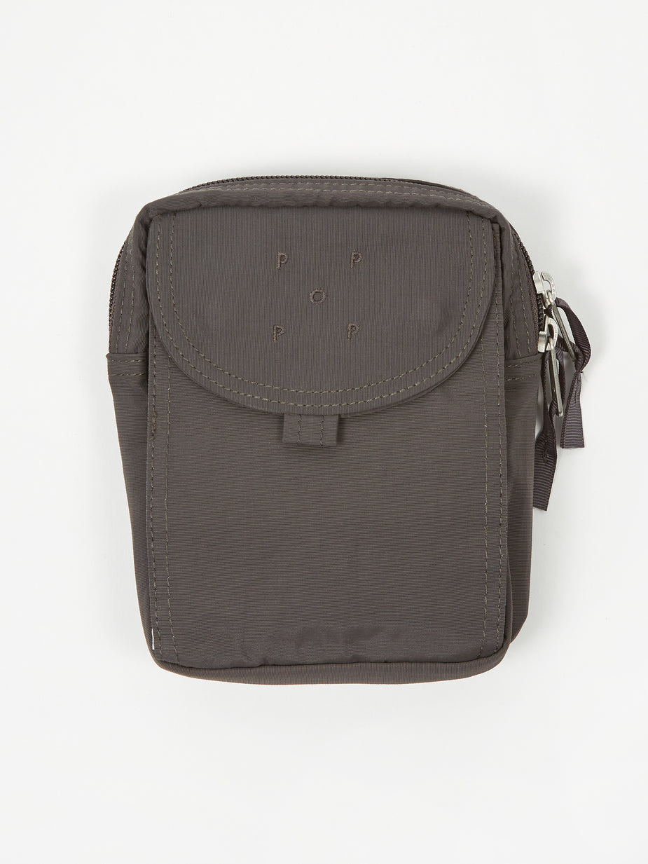 Pop Trading Company Pop Trading Company Passport Pouch - Anthracite