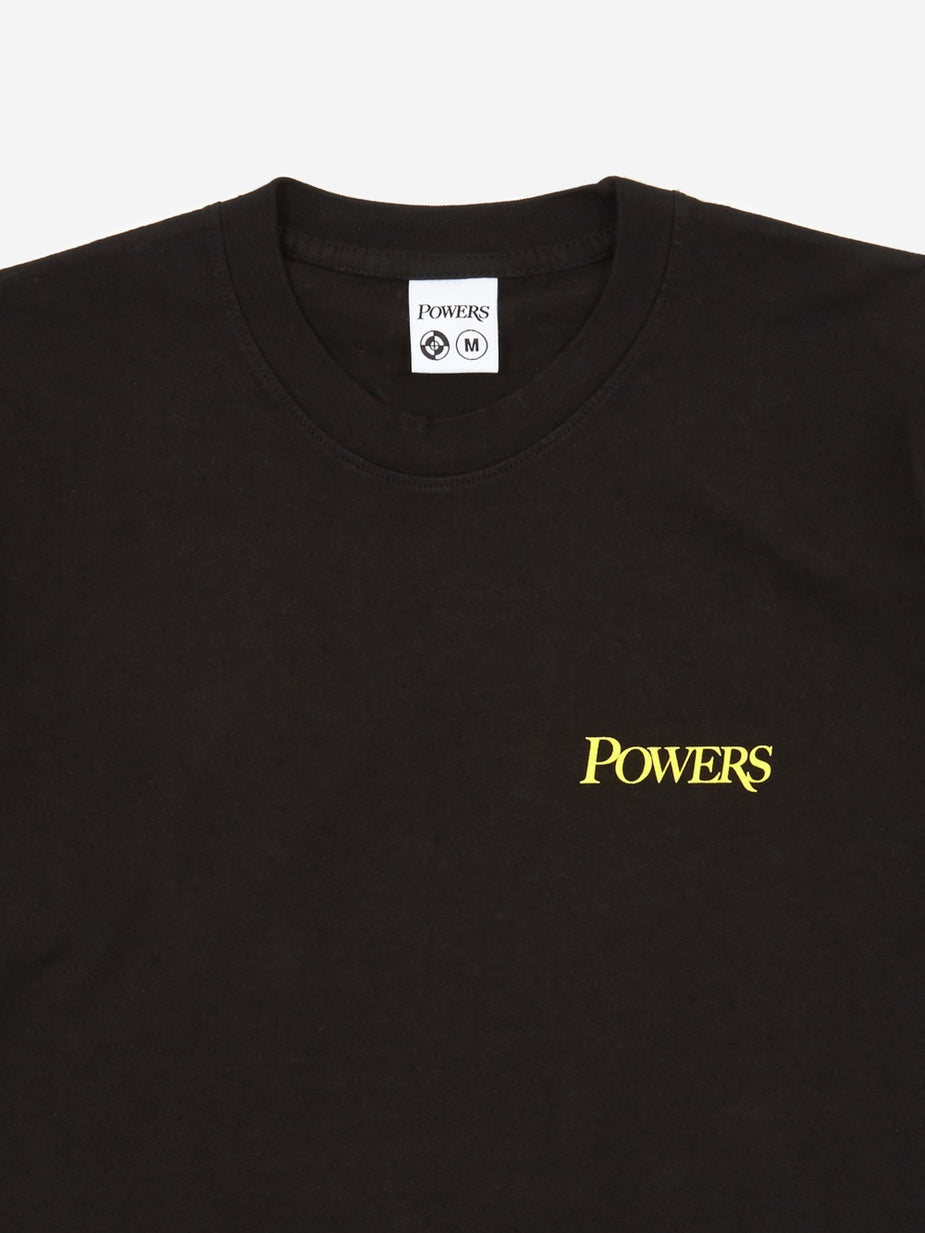 POWERS Powers Hell On Earth Shortsleeve T-Shirt - Black - Black