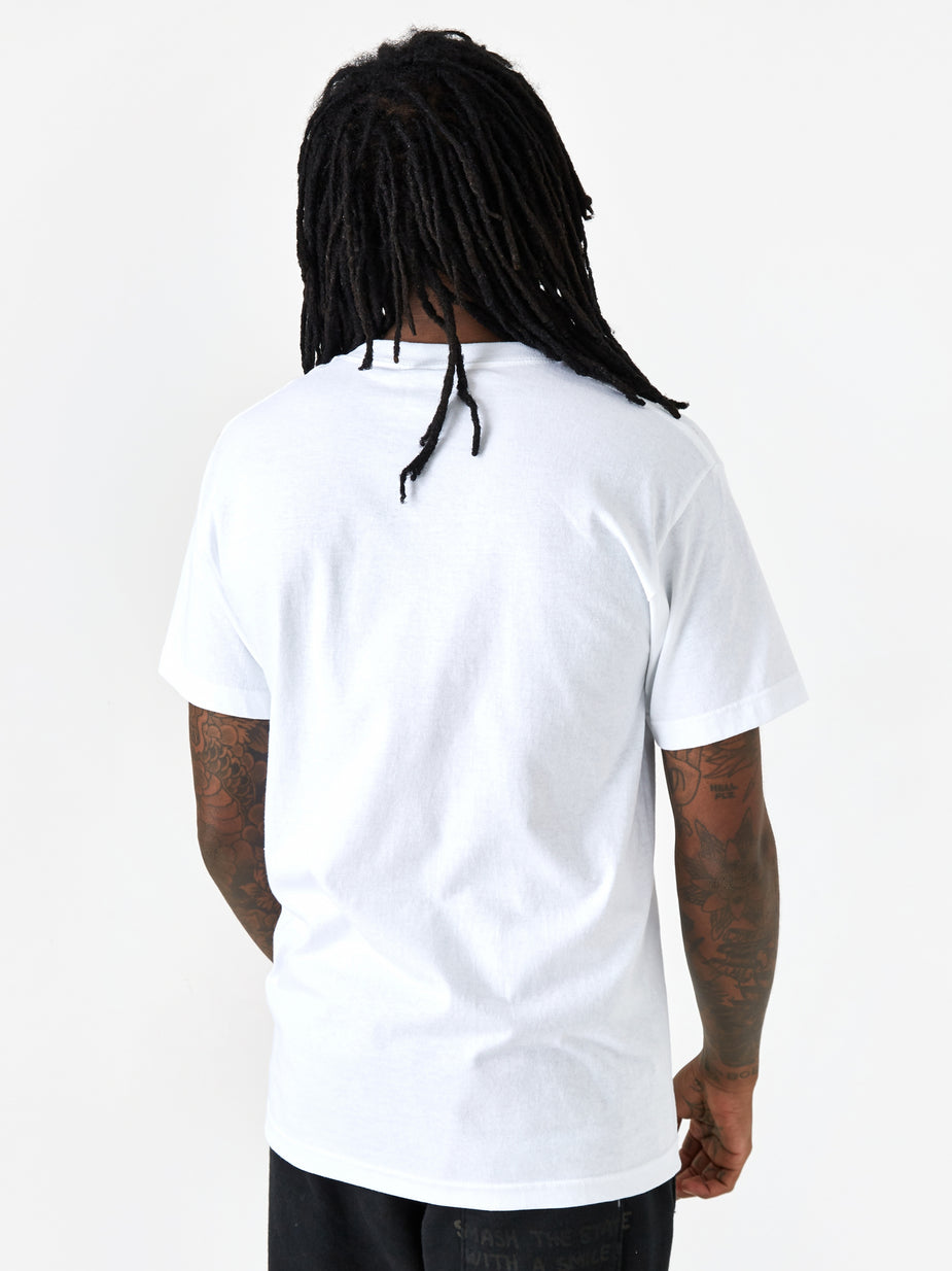 PRMTVO PRMTVO Mind Expansion Shortsleeve T-Shirt - White - White