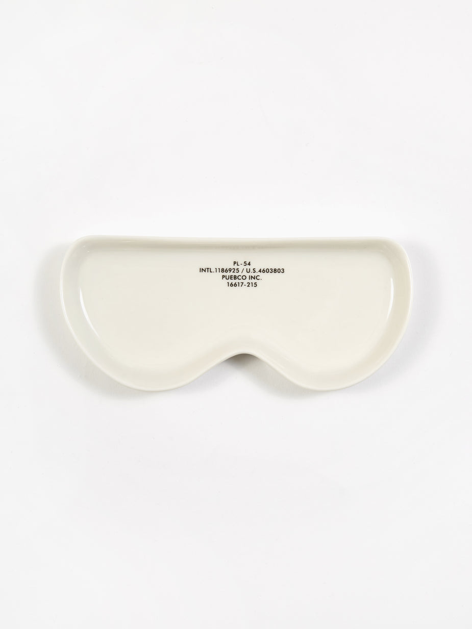Puebco Puebco Glasses Tray - Round - White