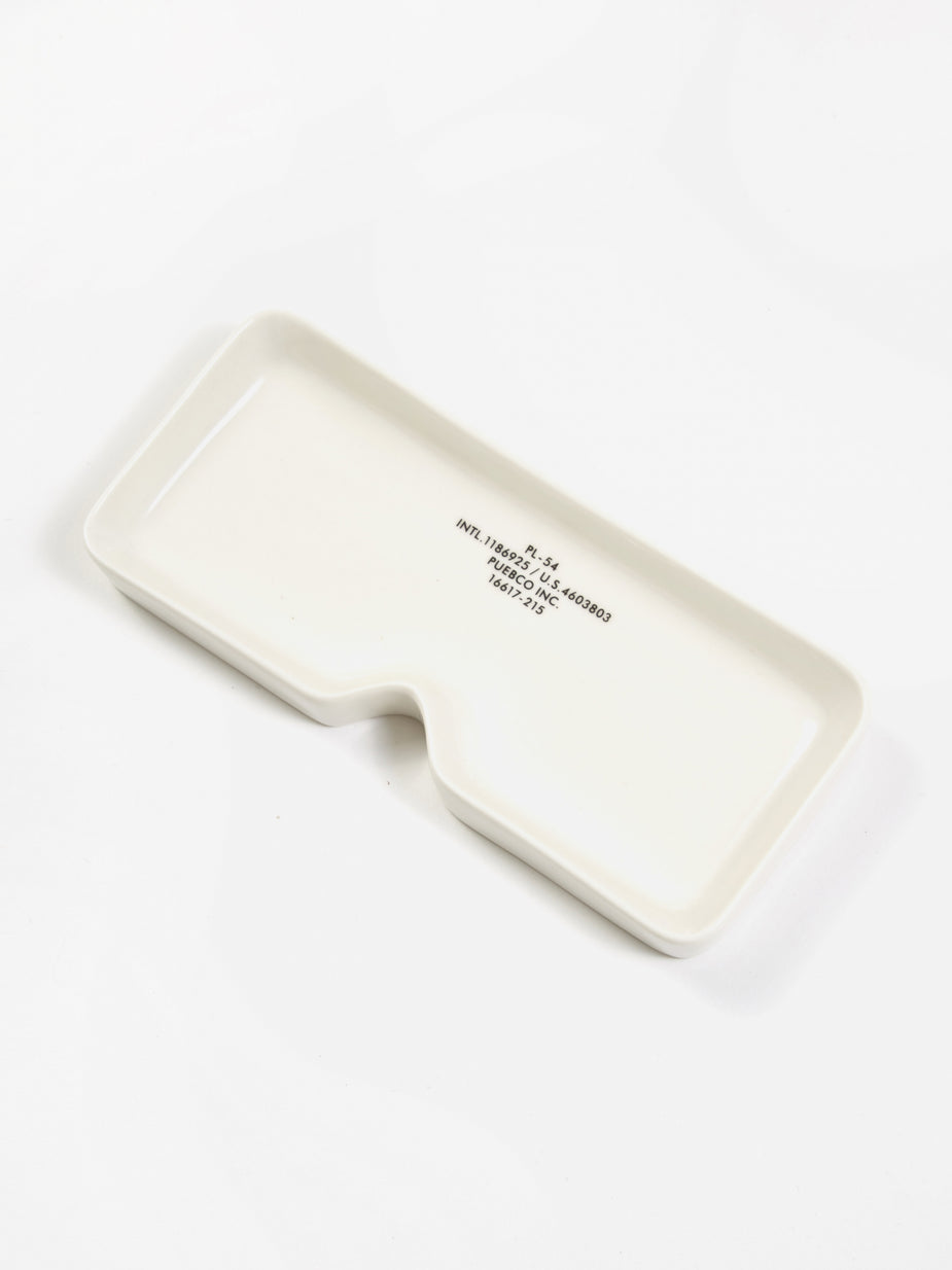 Puebco Puebco Glasses Tray - Square - White