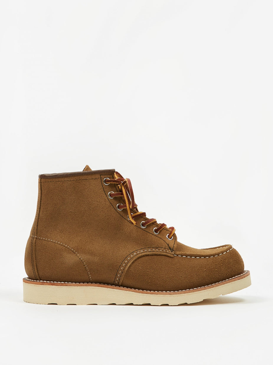 Red Wing Red Wing 6 Inch Classic Moc Toe Boot - Olive Mohave - Green