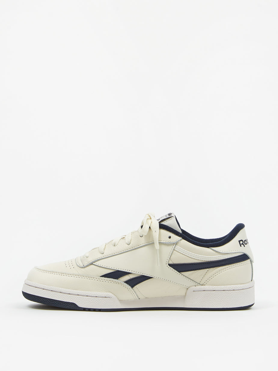 Reebok Reebok Club C Revenge - Chalk/Vector Navy/Porcelain - White